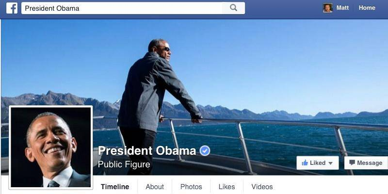 اوباما عضو فیس بوک شد+عکس