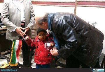 دلجویی وزارت بهداشت از کودک اصفهانی +عکس