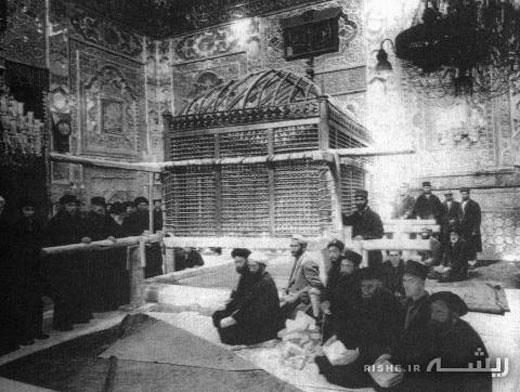قدیمی ترین عکس از ضریح امام رضا(ع)