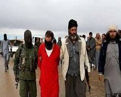 داعش، سر شیخ صوفی را در سوریه با شمشیر قطع کرد + تصاویر