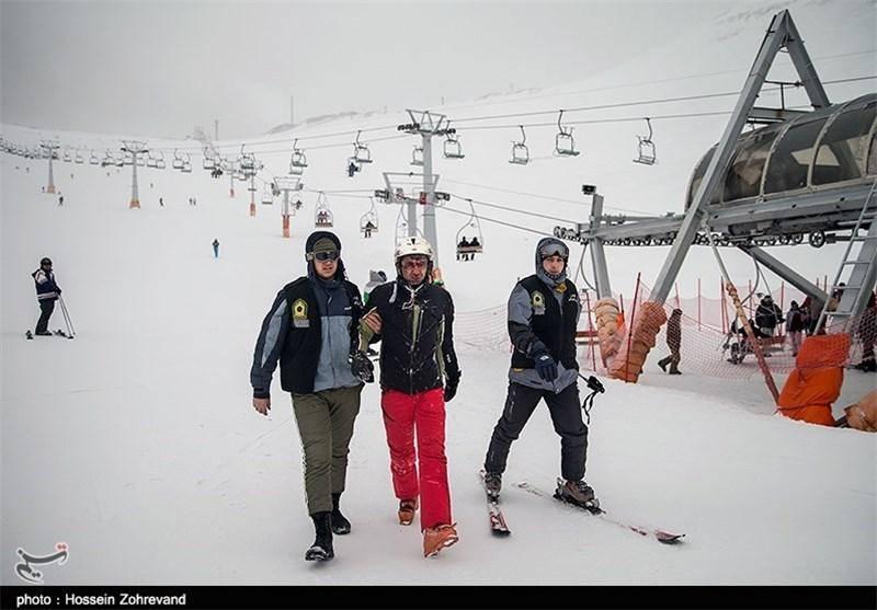 ورود زنان پلیس به پیست های اسکی تهران + عکس
