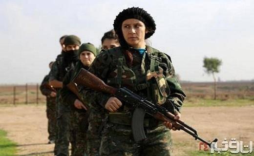 زنان مسیحی که به جنگ داعش می روند + تصاویر