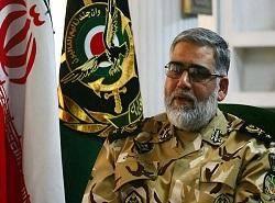امیرپوردستان: آمادگی ارتش برای مقابله با هرگونه تهدید گروهکهای تروریستی به کشور