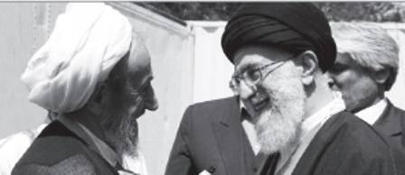 رهبر معظم انقلاب و شهید وحدت در قاب تصویر