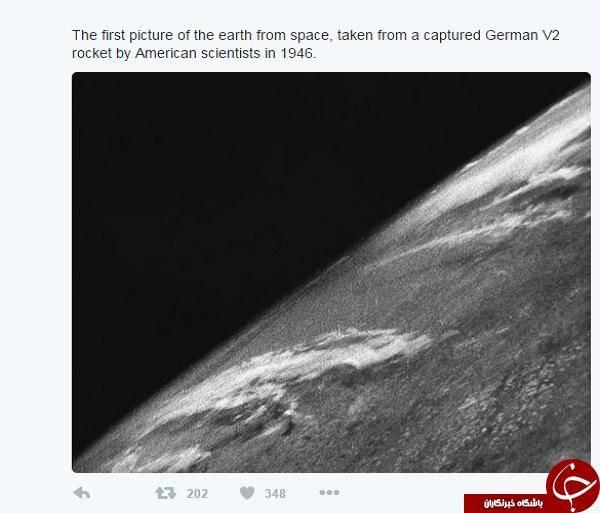 اولین تصویر گرفته شده از سطح زمین