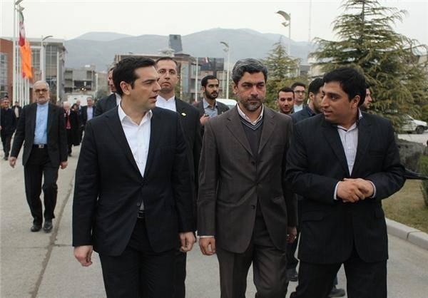 نخست وزیر یونان در پارک فناوری پردیس +عکس