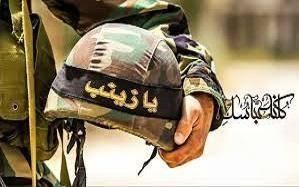 مدافعان حرم آماده برای فرود بر سر داعش +عکس