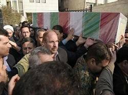 تشییع پیکر مطهر اولین شهید مدافع حرم شهرداری تهران