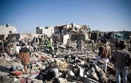 منابع خبری یمن روز سه شنبه اعلام کردند که در حمله جنگنده های عربستان به بازار «خمسین» در استان حجه یمن ۶۵ غیر نظامی کشته و ۵۵ نفر دیگر زخمی شدند