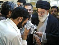 نظر سردار سلیمانی درباره چفیه خامنهای