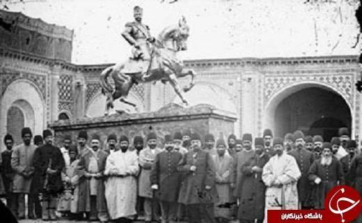 عکس: اولین پادشاهی که تندیسش در تهران نصب شد
