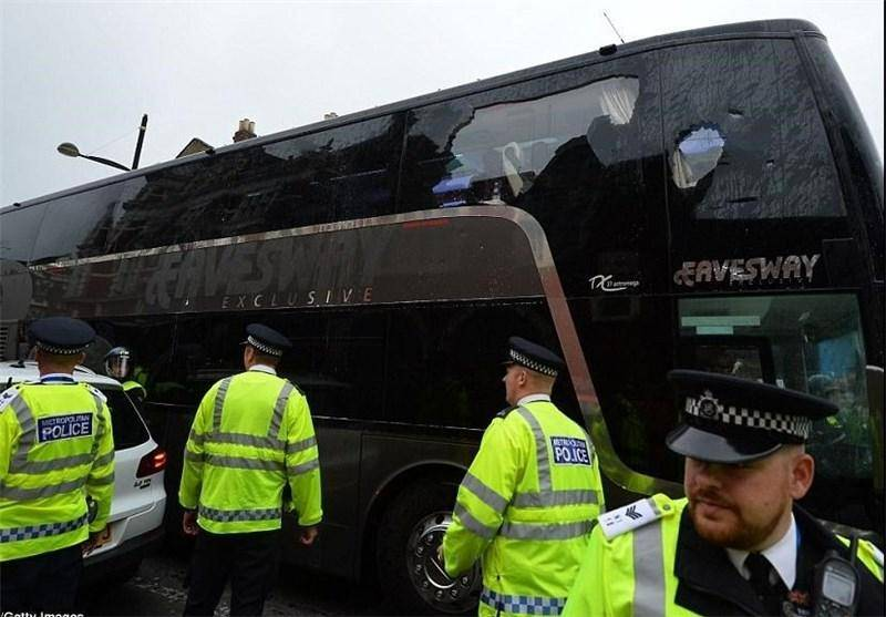 شناسایی ۴ عامل حمله به اتوبوس شیاطین سرخ +تصاویر