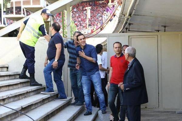 اظهارات علی کریمی پس از حضور در ورزشگاه آزادی