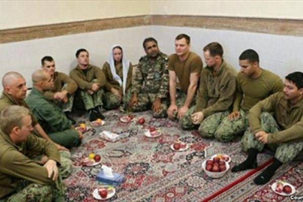 فرمانده ملوانان بازداشت شده آمریکایی برکنار شد