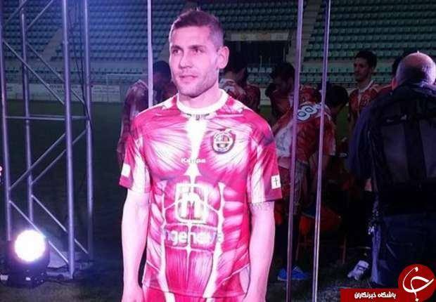 تکان دهنده ترین پیراهن تاریخ فوتبال +عکس