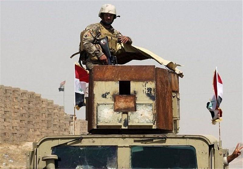 نیروهای عراقی وارد شهر فلوجه شدند