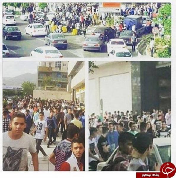واکنش کاربران به میتینگ دختر و پسرهای تهرانی +عکس
