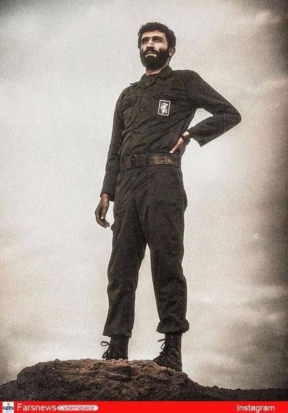 «ایستاده در غبار» دراینستاگرام صداپیشه جنابخان +عکس