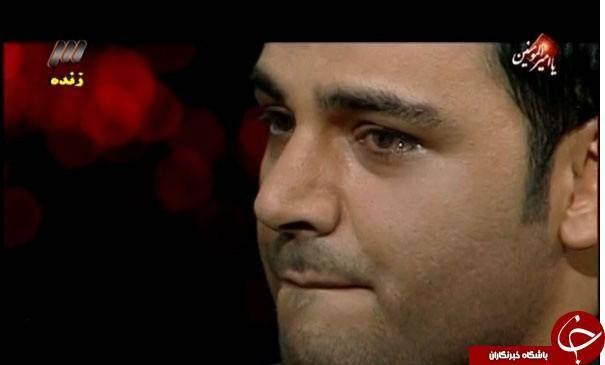 احسان علیخانی کجای ماه عسل اشکش درآمد؟ +عکس