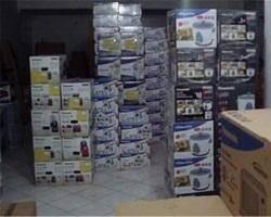 کشف ۹ انبار بزرگ لوازم خانگی قاچاق در تهران و کرج