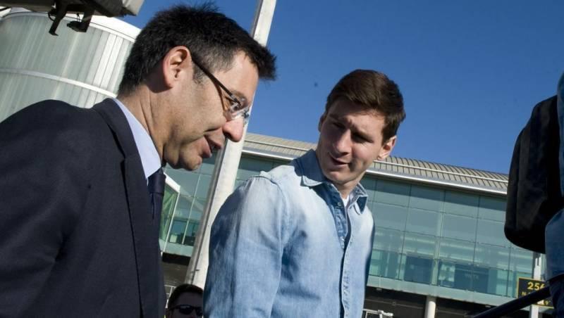 خشم باشگاه بارسلونا از محکومیت زندان مسی