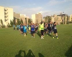 تمرین ضربه ایستگاهی منصوریان و به وجد آمدن استقلالیها