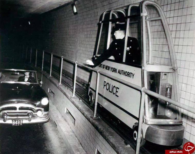 عکس: پليس تونل در نيويورك قدیم