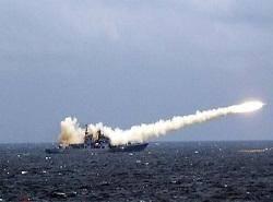 ناوهای روسیه مقر داعش را در سوریه هدف قرار دادند