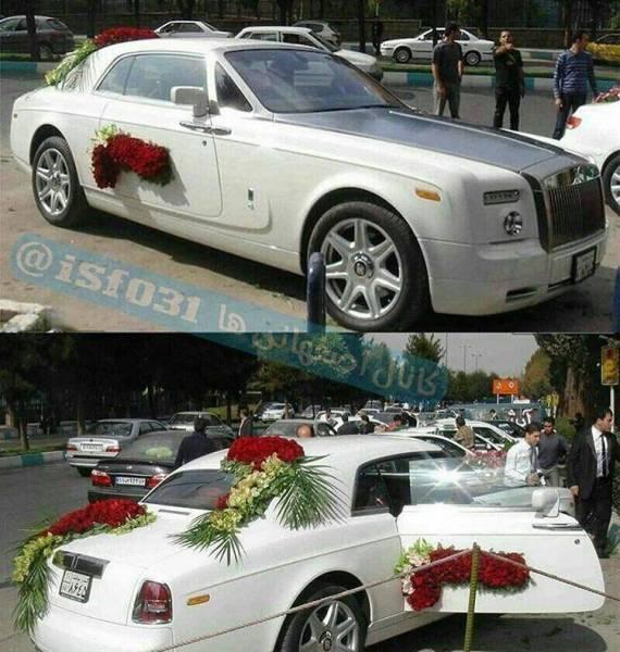 گرانترین ماشین عروس ایران (عکس)