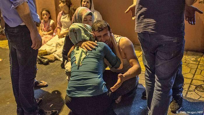 انفجار در یک مراسم عروسی در ترکیه: ۳۰ کشته و ۱۰۰ زخمی
