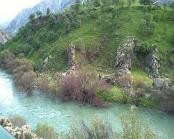 منظرهای زیبا از رودخانه هورامان در کرمانشاه + تصویر