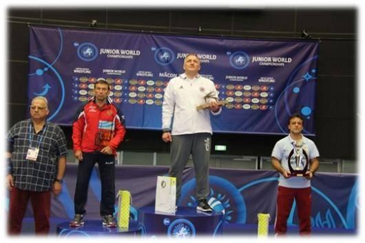 تیم کشتی فرنگی جوانان ایران بر سکوی سوم جهان ایستاد