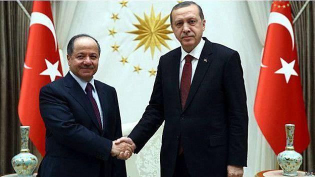 منابع آگاه از جزئیات دیدار بارزانی و اردوغان میگویند