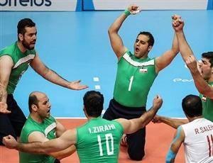 تیم ملی والیبال نشسته ایران فینالیست شد
