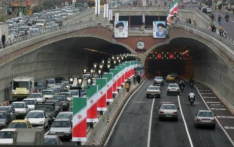 ساعات اوج ترافیک تهران اعلام شد