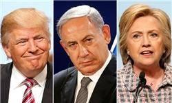نتانیاهو یکشنبه با ترامپ و هیلاری کلینتون دیدار میکند