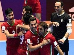 پیروزی شیرین تیم ملی فوتسال ایران مقابل پاراگوئه و صعود به جمع 4 تیم برتر جهان
