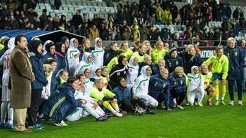 اعزام زنان شهرداریبم و سیرجان با نام تیم ملی به سوئد