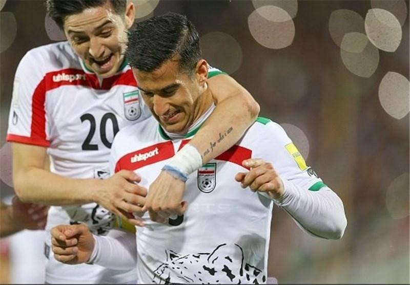 جشن سوریها از محرومیت دو بازیکن تیم ملی ایران