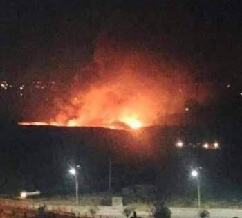 حمله هوایی جنگنده های رژیم صهیونیستی به فرودگاه نظامی دمشق