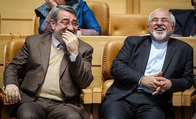 خنده از ته دل دو وزیر روحانی (تصویر)