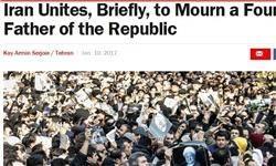 نشریه آمریکایی: رفسنجانی با مرگش ایرانیها را متحد کرد