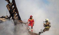 کمیته ویژه کمیسیون عمران از محل حادثه ساختمان پلاسکو بازدید کردند