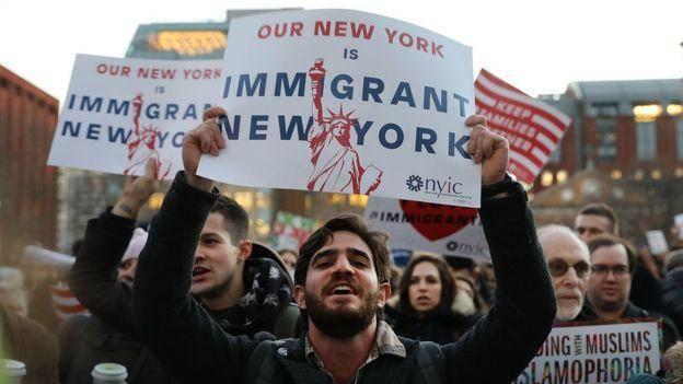 شهرهای آمریکا از دستور اخراج مهاجران سرپیچی میکنند