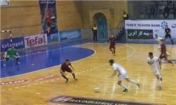 پیروزی تیم ملی فوتسال زیر 20 سال ایران مقابل اوکراین