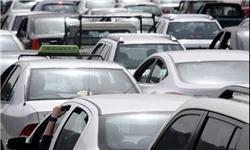 ترافیک سنگین در میدان بهارستان، خیابان جمهوری و پل چوبی/ اعمال محدودیت ترافیکی در خیابان جمهوری و بهارستان