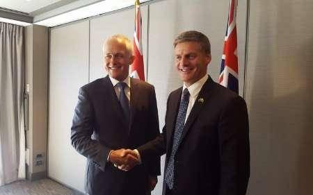 مذاکره نخست وزیران استرالیا و نیوزیلند برای اجرای تی.پی.پی به رغم مخالفت ترامپ