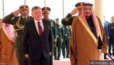 اردن وعربستان 15 توافقنامه و سند همکاری امضا کردند