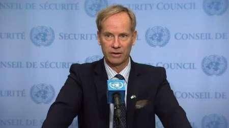 ابراز نگرانی نماینده سوئد در سازمان ملل از حمله نظامی آمریکا به سوریه