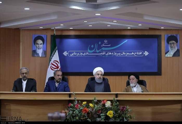 روحانی:برای پیشرفت همه جانبه کشور باید توسعه، تولید ملی و اشتغال، گفتمان حاکم بر کشور شود